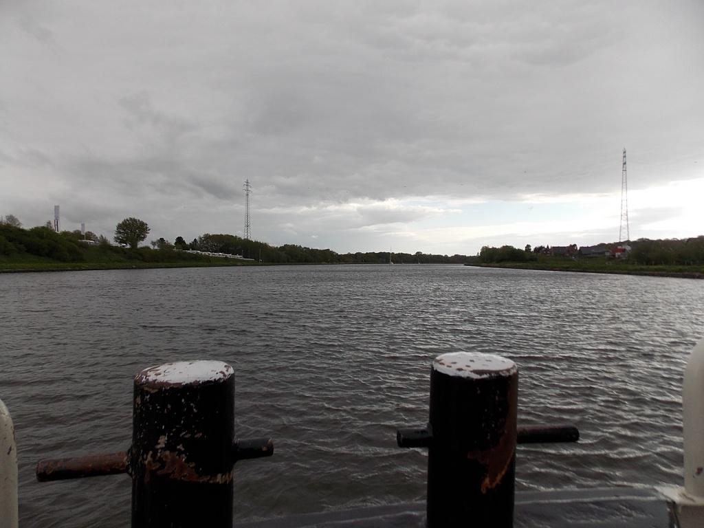 Nobiskrug Fähre NOK Nord-Ostsee-Kanal Kielcanal