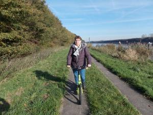 Weg am Kanal Susanne Flessau-Rieck