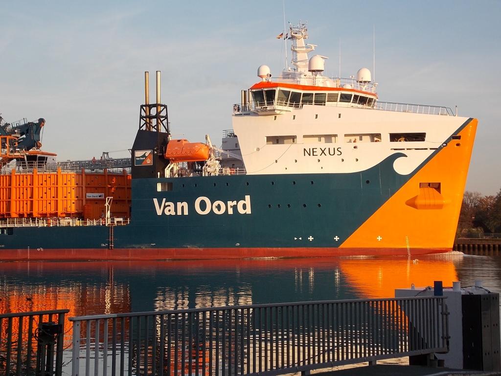 Van Oord Nexus Kabelverlegungsschiff