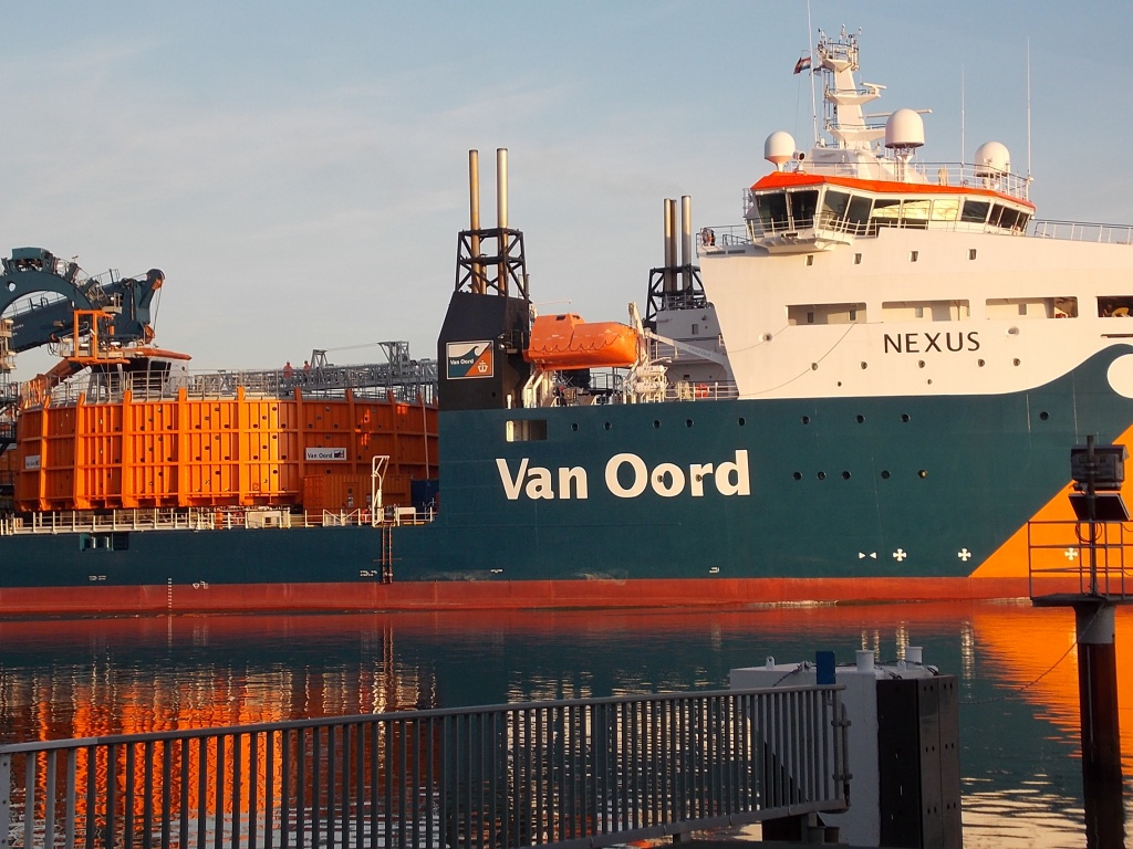 Van Oord Nexus Cable-laying vessel
