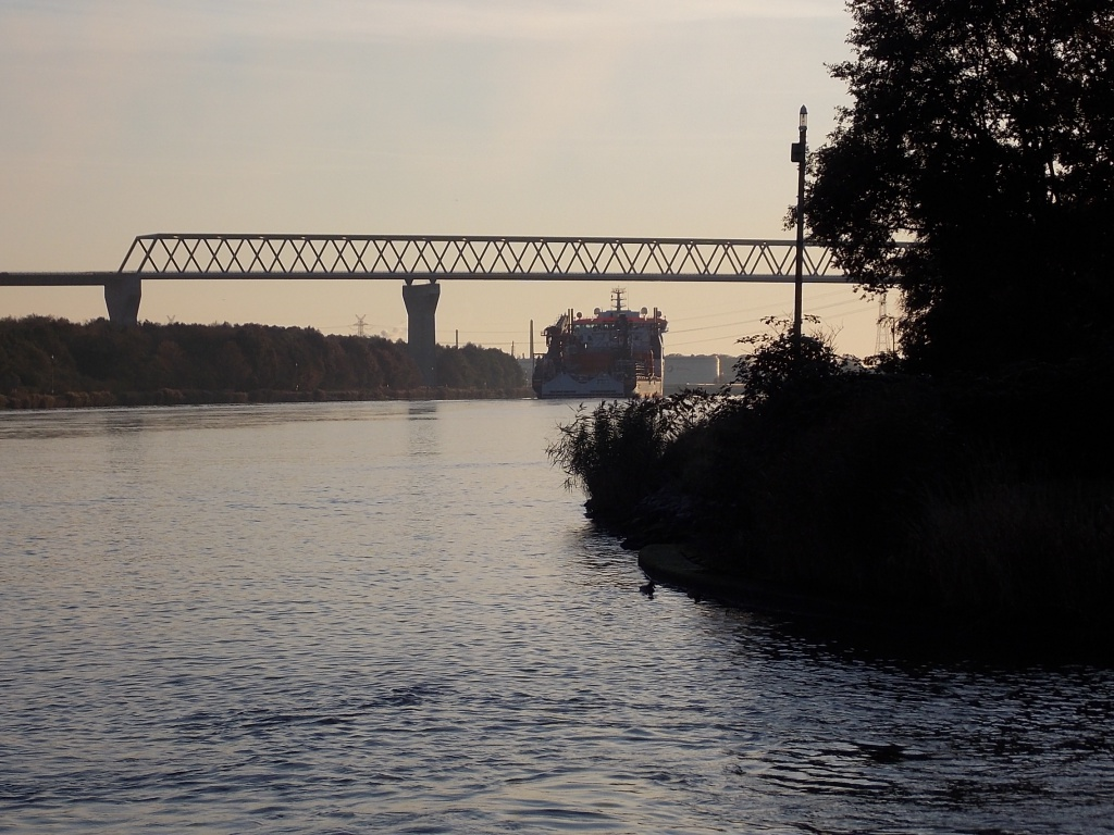 Brücke Hochbrücke Brunsbüttel