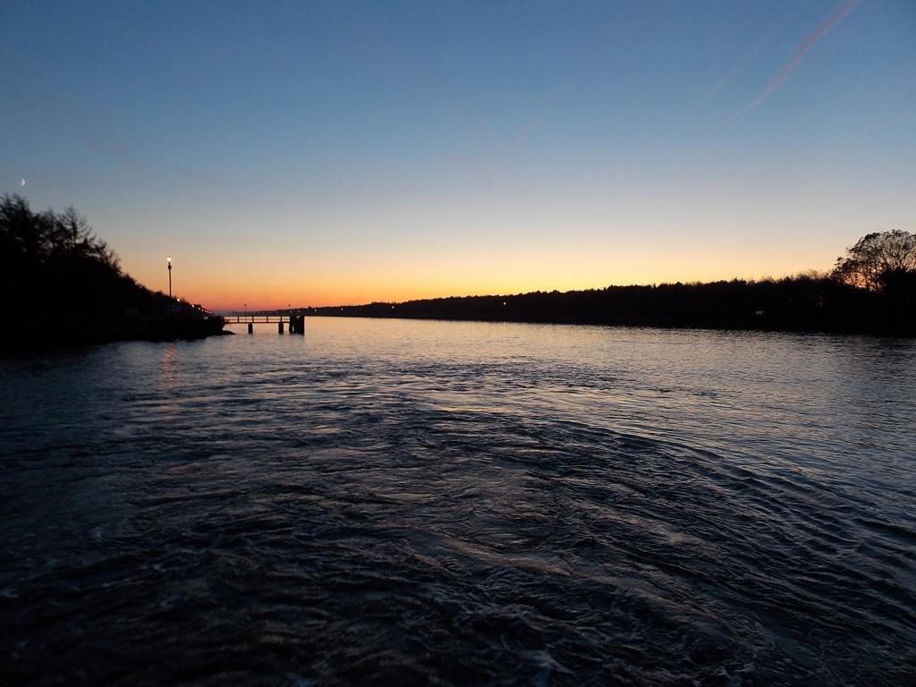 Nord-Ostsee-Kanal von Burg nach Brunsbüttel