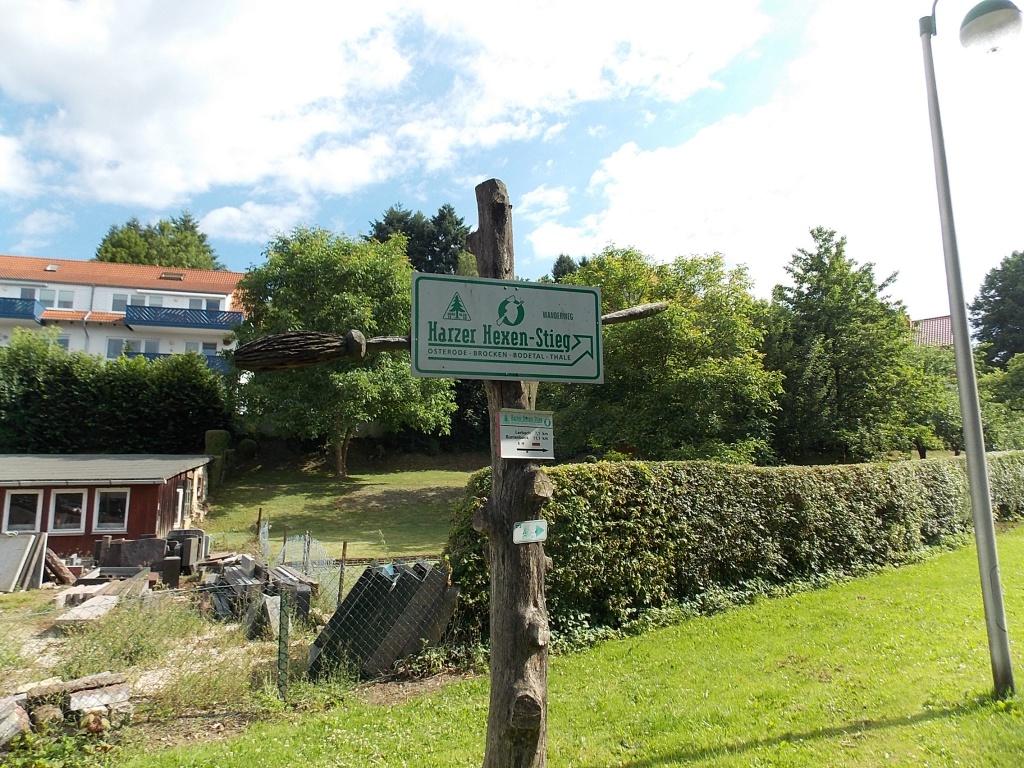 Osterode Start oder Ziel vom Harzer-Hexen-Stieg.