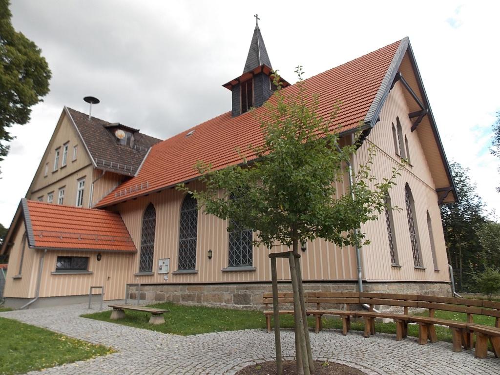 Königshütte Kirche und Schule