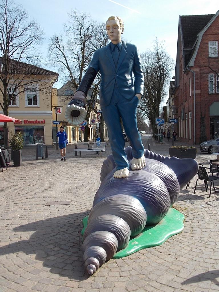 Ahrensburg Muschelläufer Kustwerk Rondeel