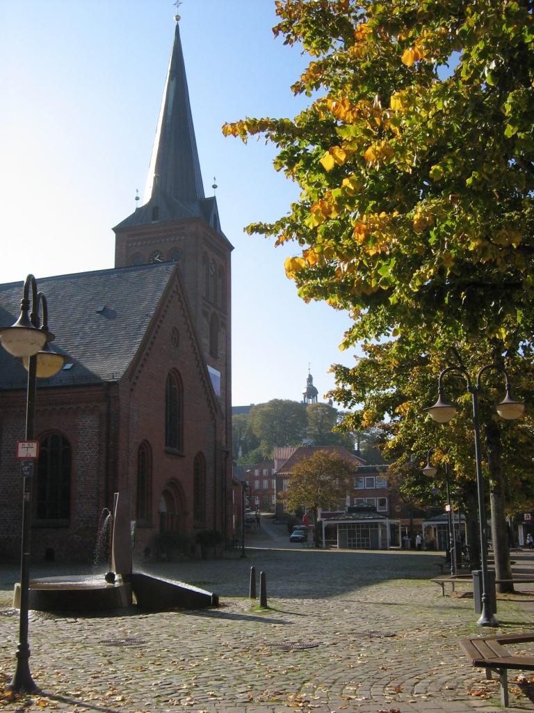 Nikolaikirche am Markt in Plön