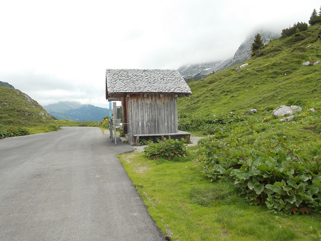 Formarinsee Bushaltestelle Lechweg 1