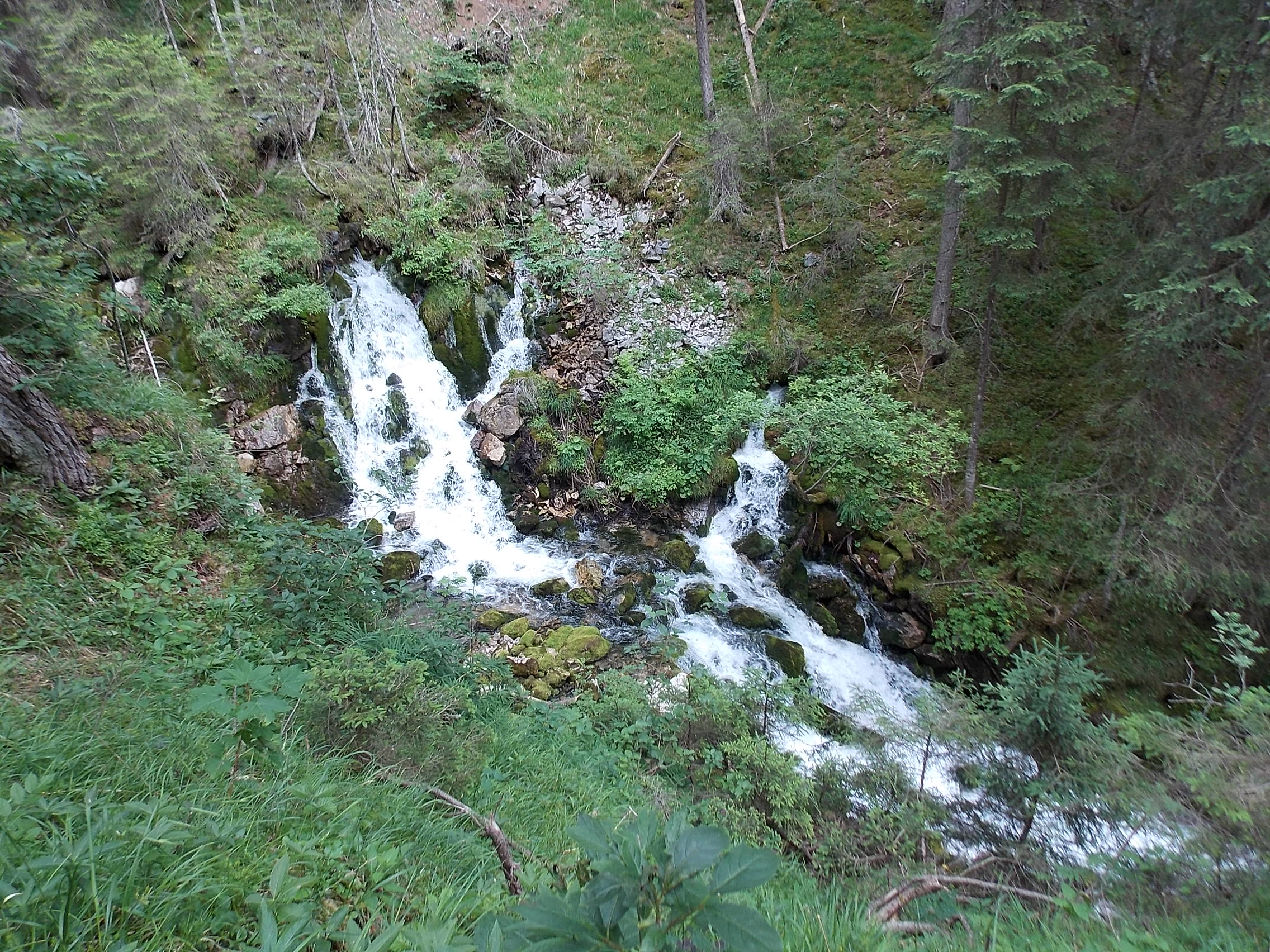 Doser Wasserfall Häselgehr Lechweg 8