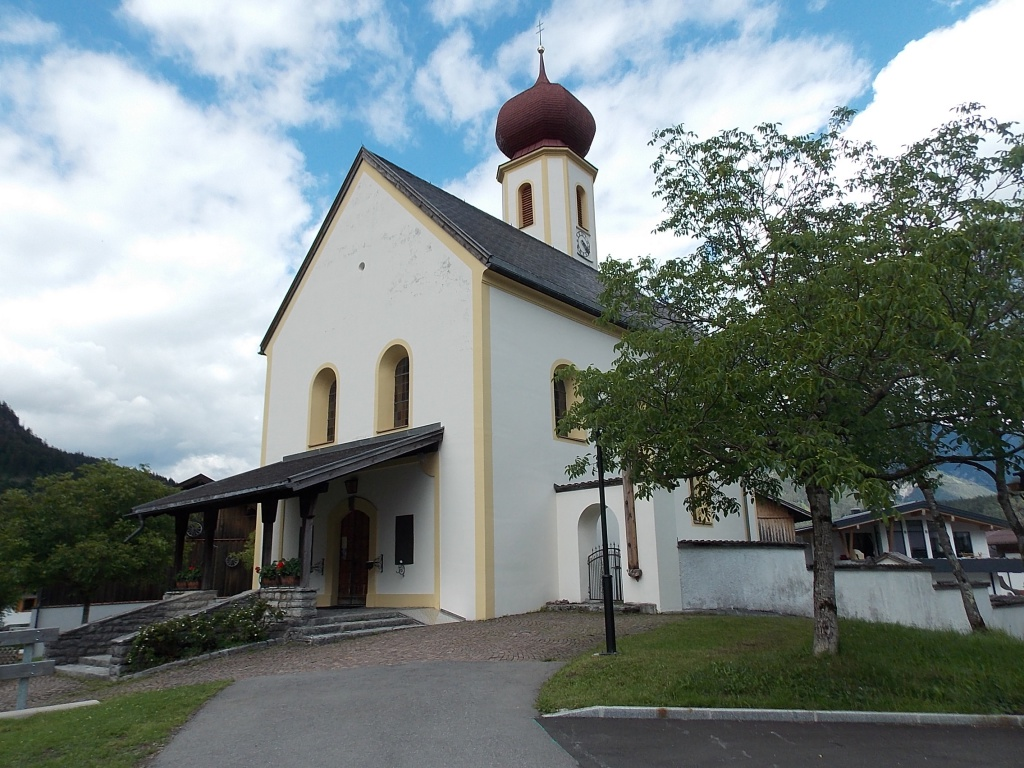 Kirche Heilger Johannes der Täufer Vorderhornbach