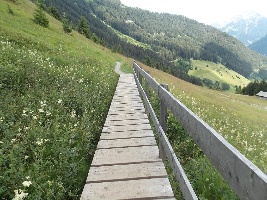 Holzsteg Schiggen Lechweg 5