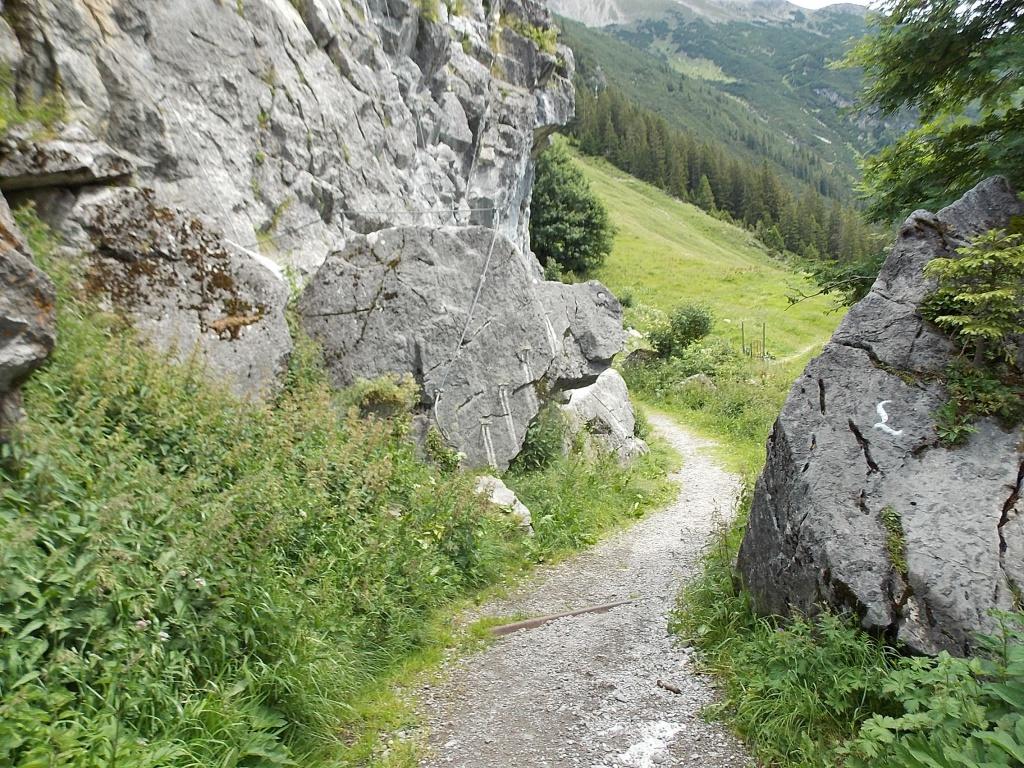 Lechleiten Naturklettergarten Lechweg 3