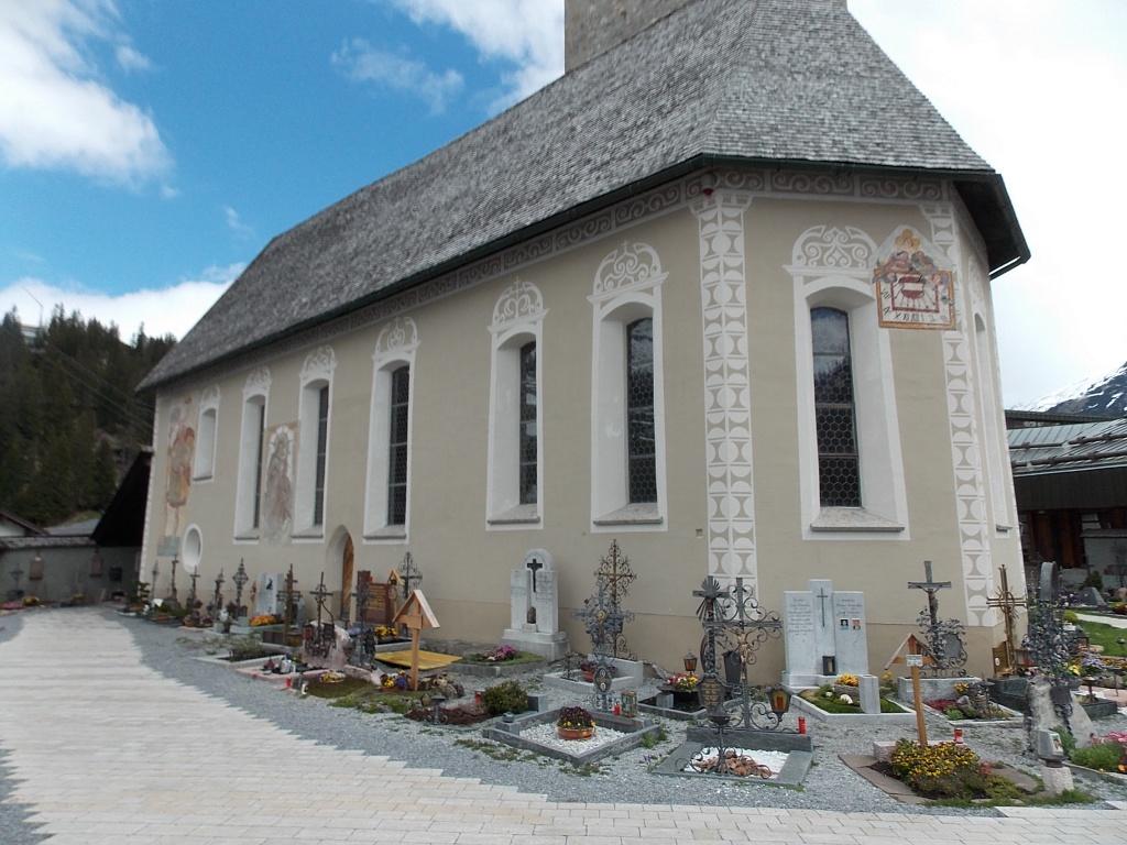 Alte St. Nikolaus Kirche Lech Arlberg