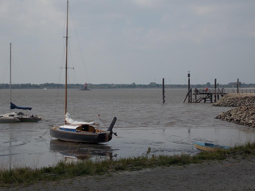 Kollmar Hafenmole