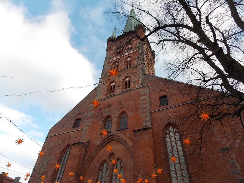Lübeck Weihnachten 2019 St. Petri Kirche