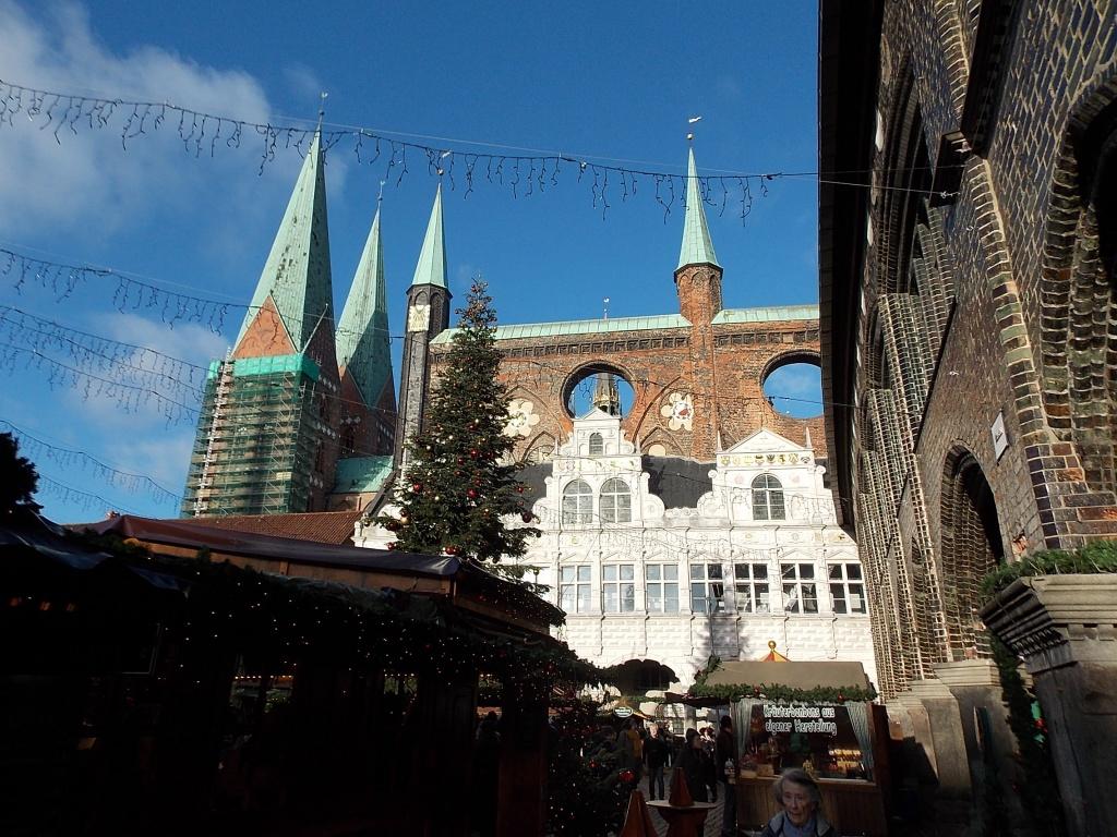 Lübeck Weihnachten 2019 Markt