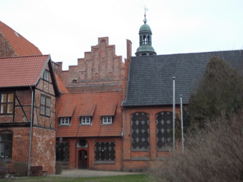 Lüneburg Rathaus Innenhof