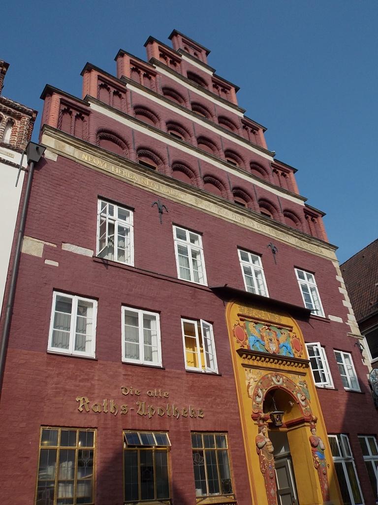 Lüneburg Große Bäckerstraße Die Alte Raths-Apotheke