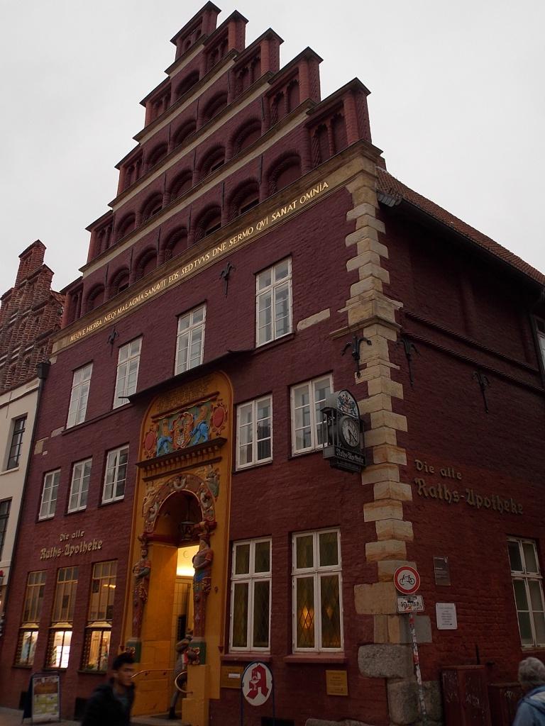 Lüneburg Die Alte Raths-Apotheke