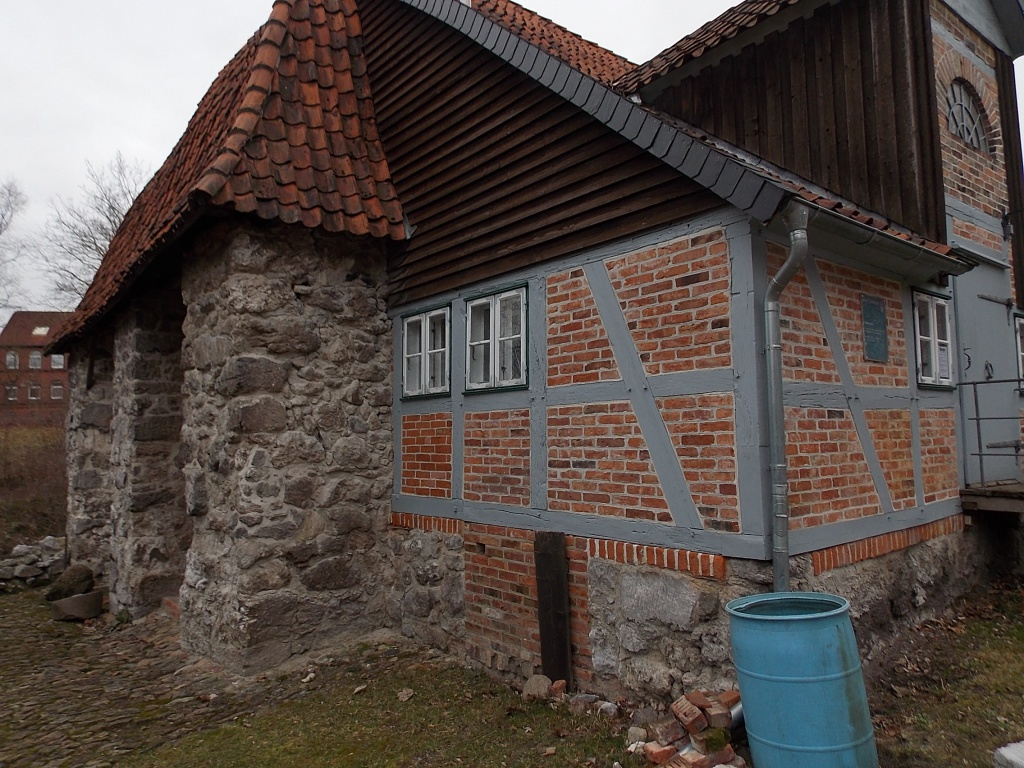 Lüneburg Ehemalige Gipsbrennerei