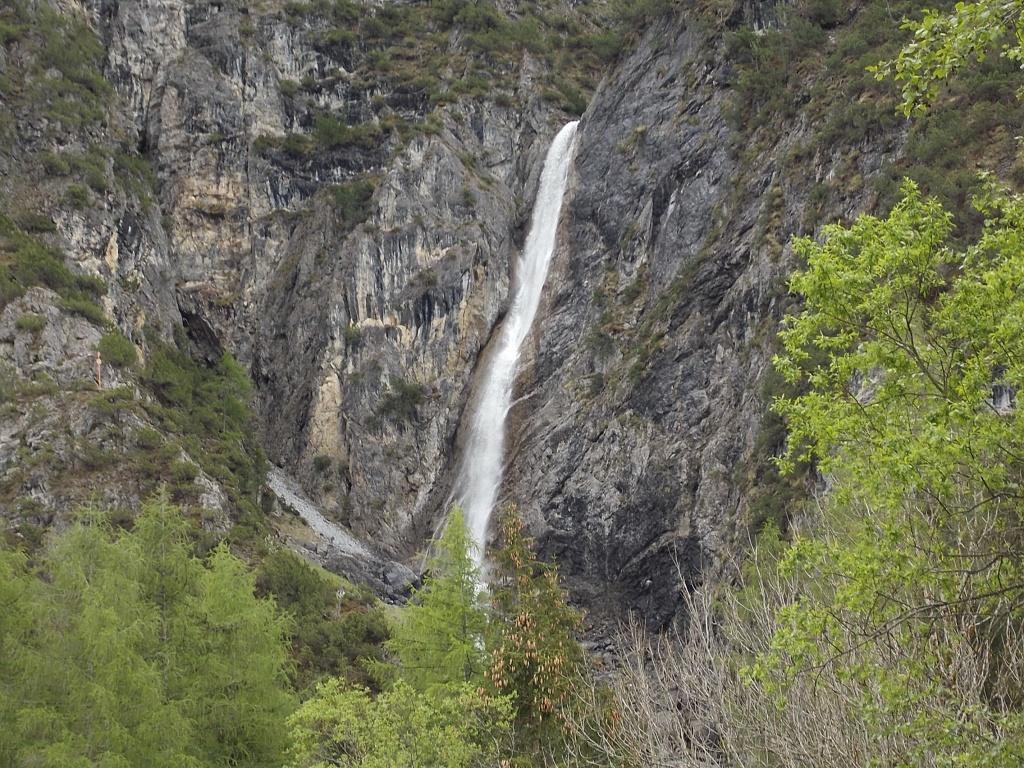Lech Radweg Wasserfall