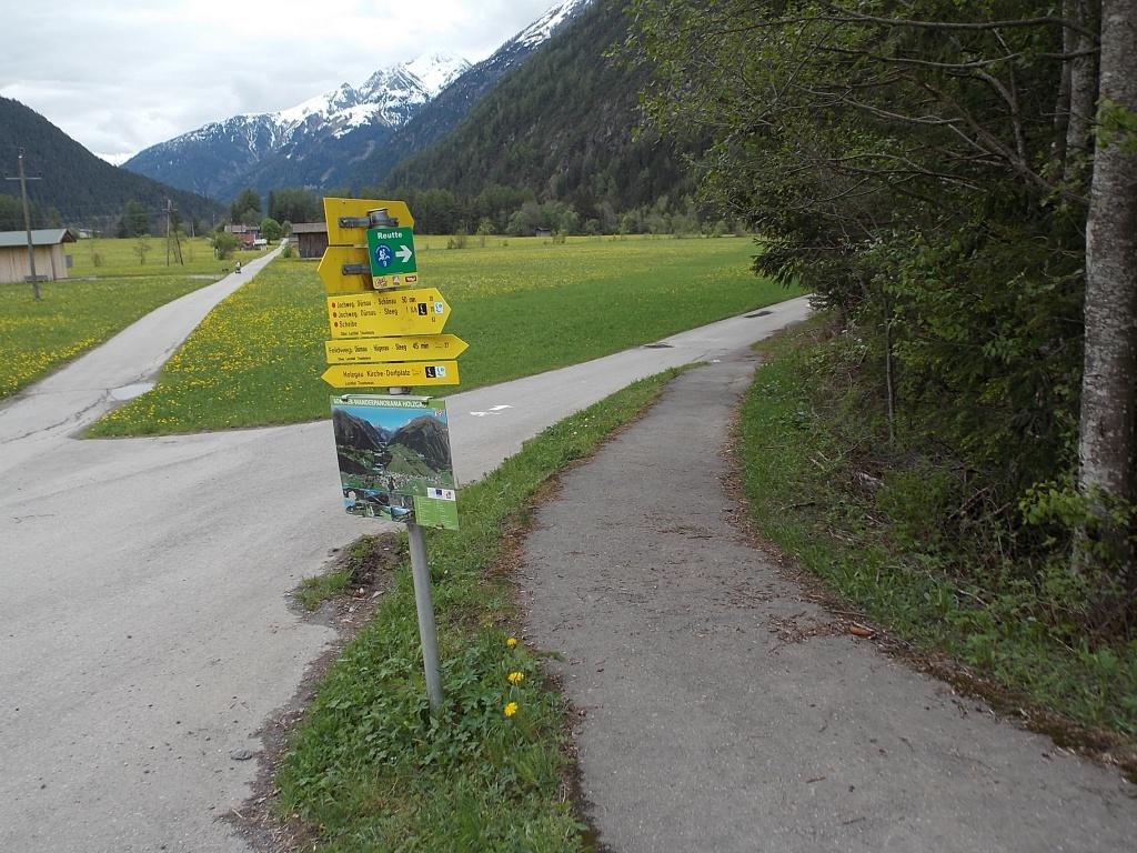 Lech Radweg Holzgau