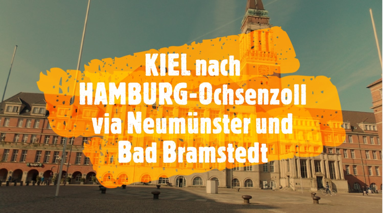KIEL - HAMBURG-Ochsenzoll
