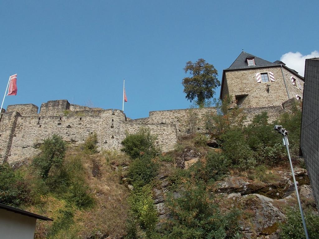 Kastellaun Burg Deutsche Alleenstrasse Etappe 5