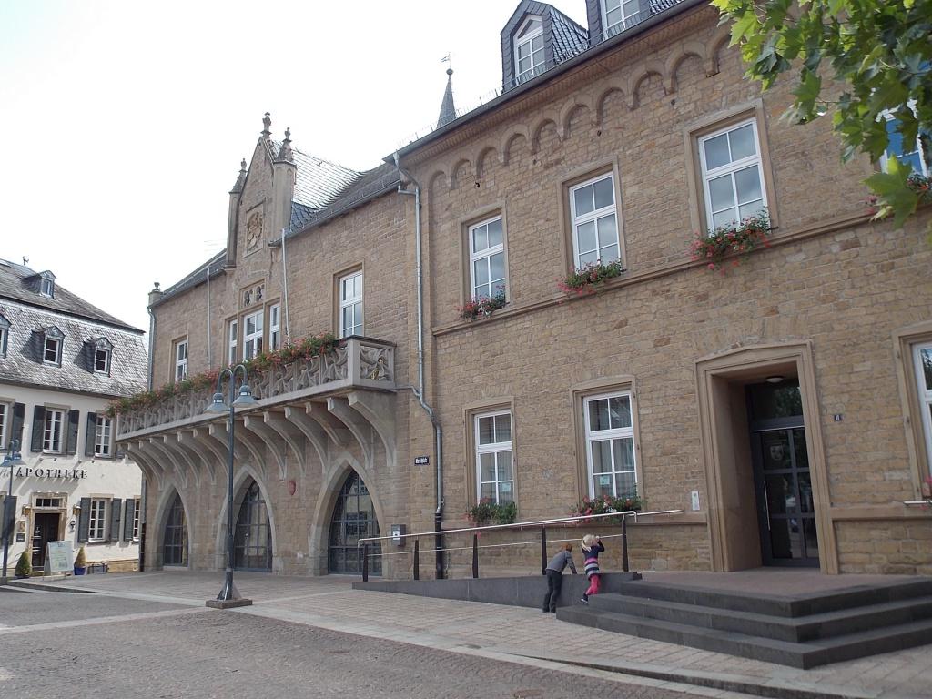Bad Sobernheim Rathaus Deutsche Alleenstrasse Etappe 5