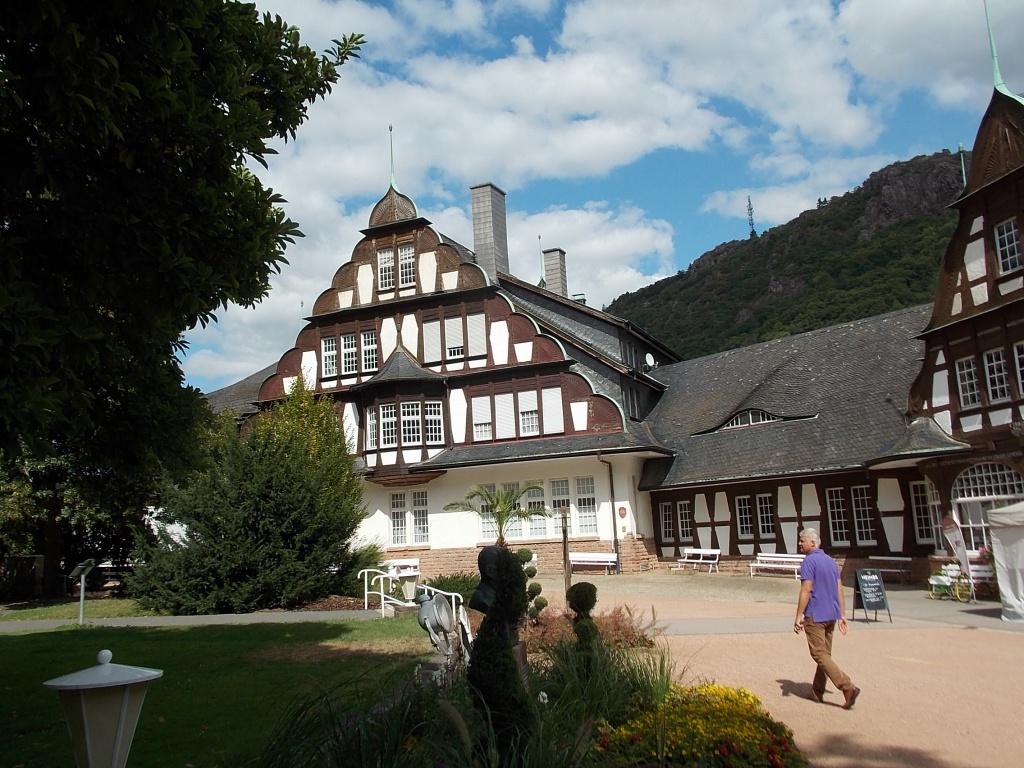 Bad Münster am Stein-Ebernburg Kurmittelhaus Deutsche Alleenstrasse Etappe 5