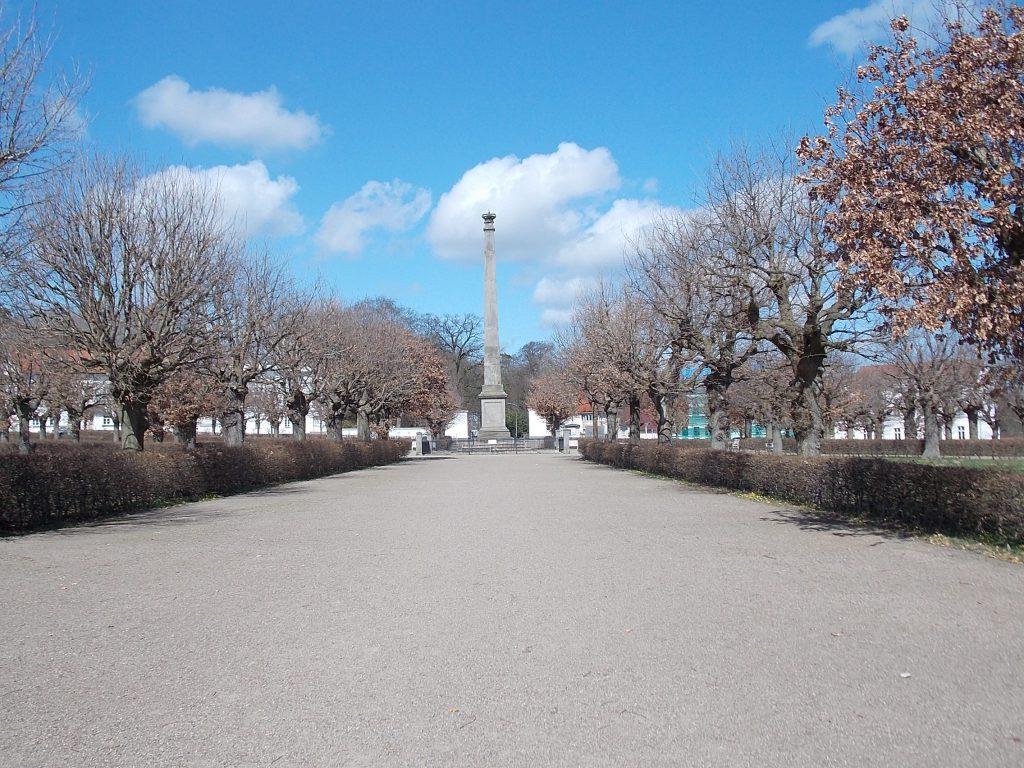 Putbus Obelisk am Circus