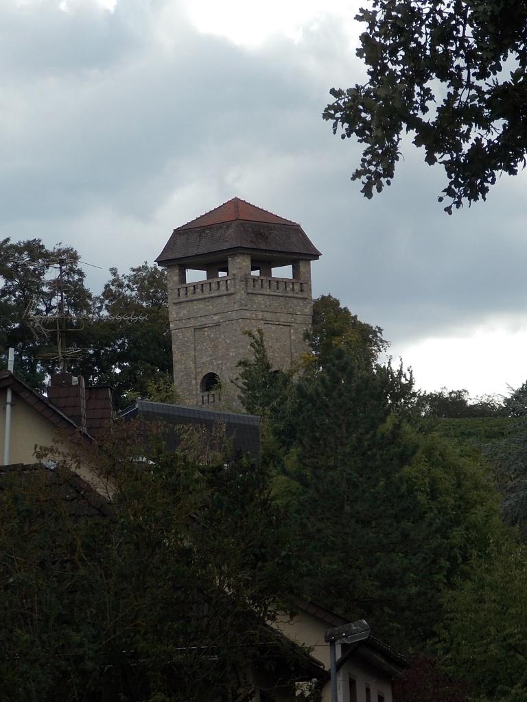 Wöllstein Wasserturm Deutsche Alleenstrasse Etappe 6