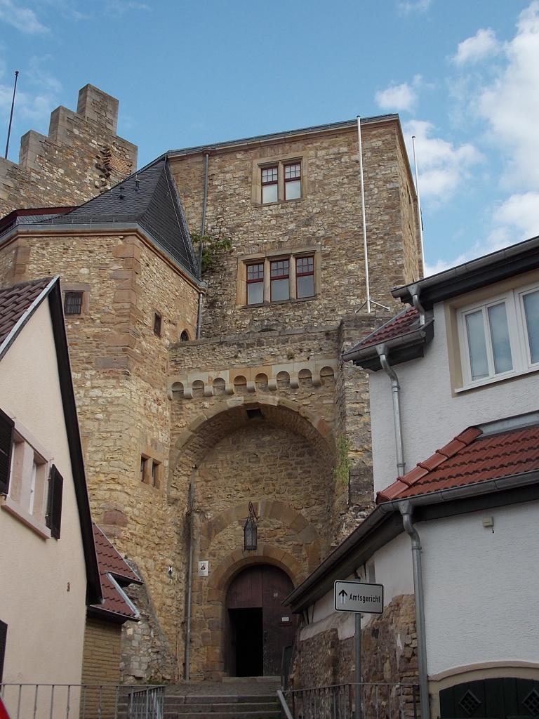 Alzey Schloss Deutsche Alleenstrasse Etappe 6