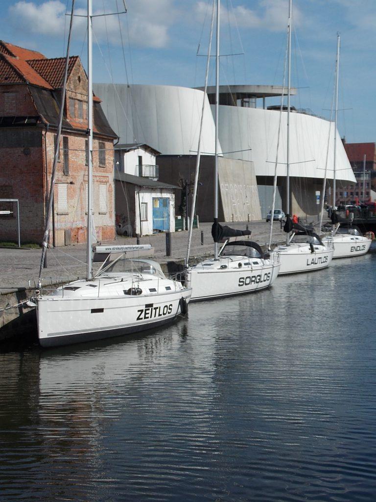 Stralsund Am Fährkanal