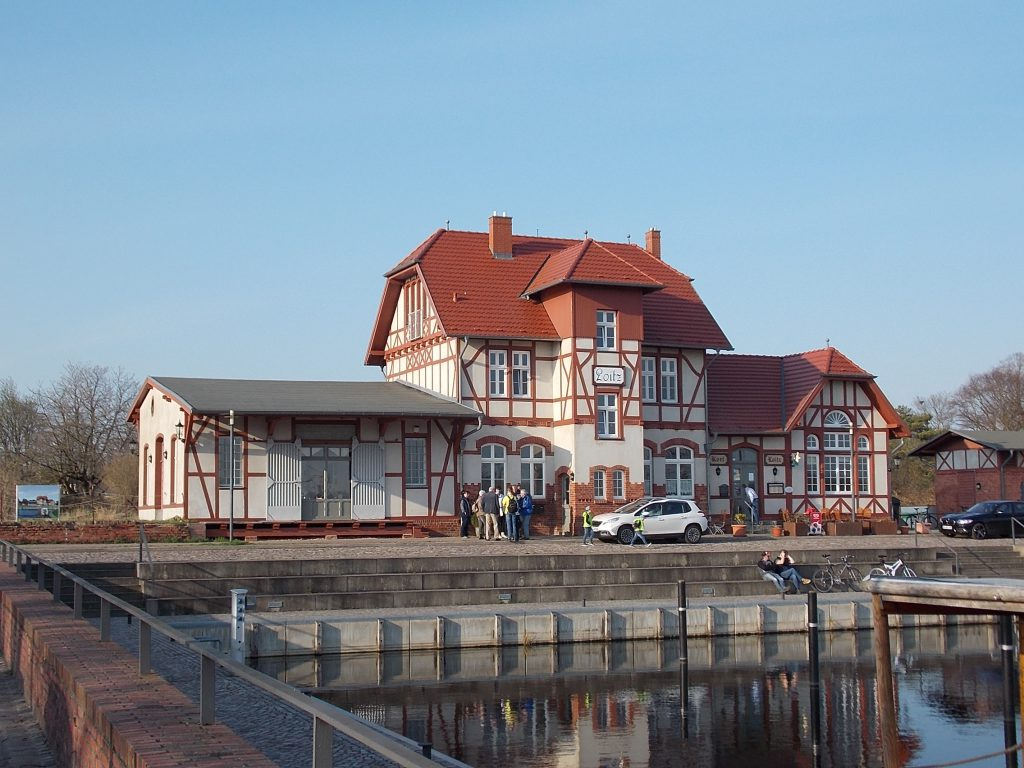 Loitz ehem. Bahnhof am Hafen