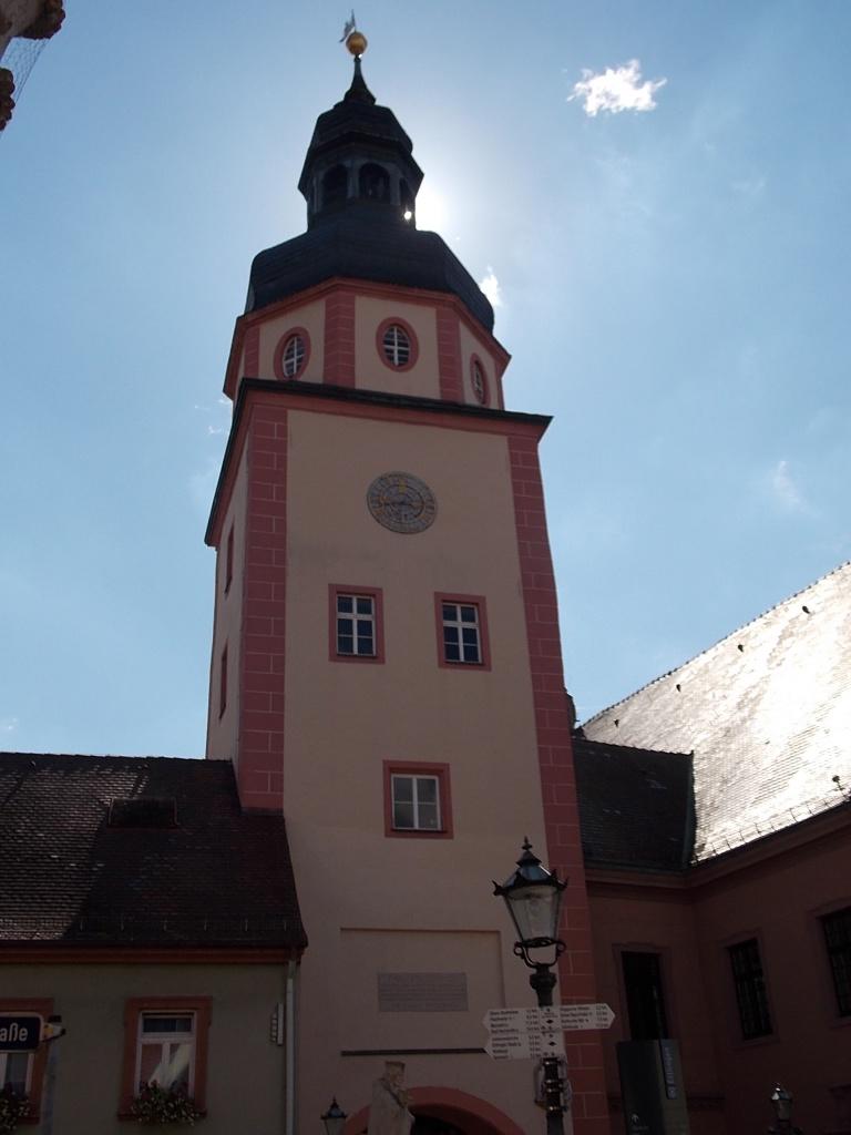 Ettlingen Rathausturm Deutsche Alleenstrasse Etappe 6