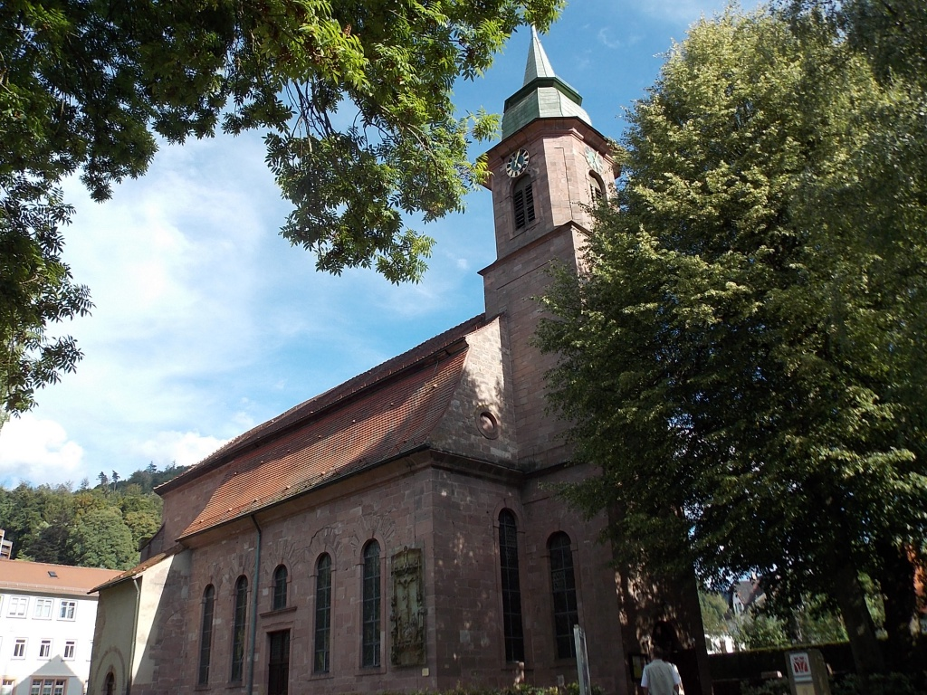 Bad Herrenalb Klosterkirche Deutsche Alleenstrasse Etappe 6