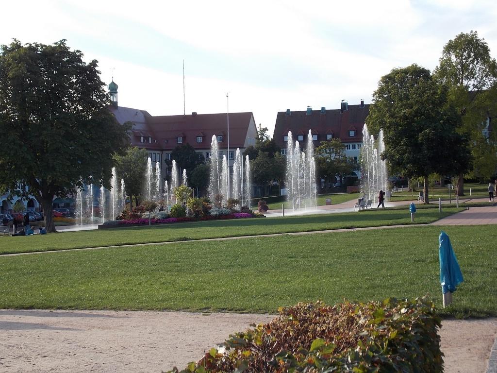 Freudenstadt Marktplatz Deutsche Alleenstrasse Etappe 6