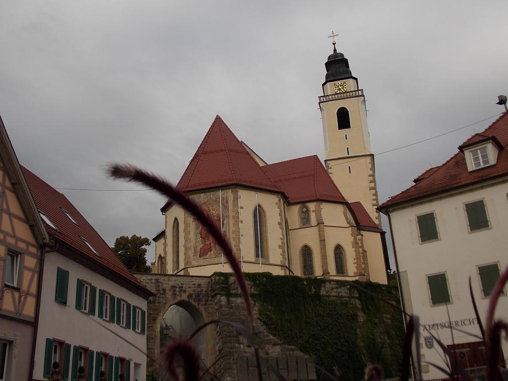 Horb am Neckar Stiftskirche Heilig Kreuz Deutsche Alleenstrasse 7