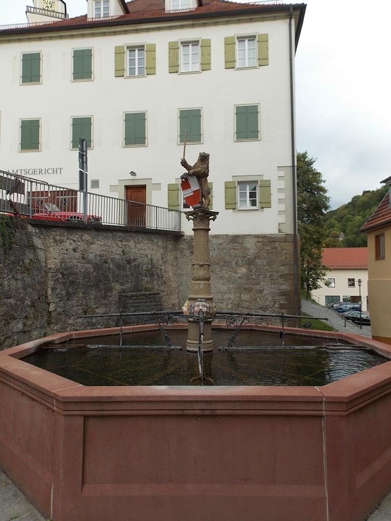 Horb am Neckar Marktbrunnen Deutsche Alleenstrasse 7