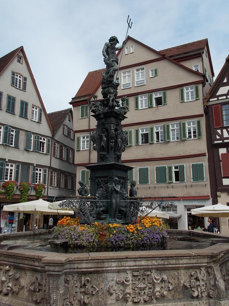 Tübingen Neptunbrunnen