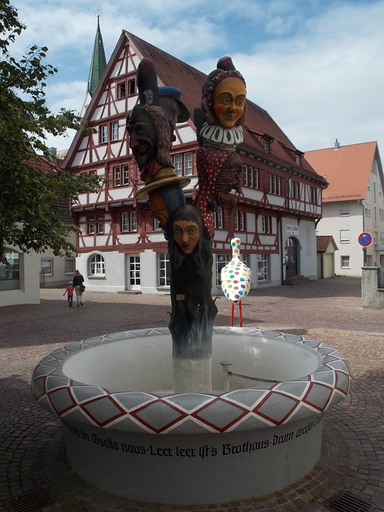 Bad Saulgau Narrenbrunnen