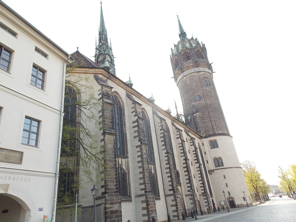 Lutherstadt Wittenberg Schlosskirche