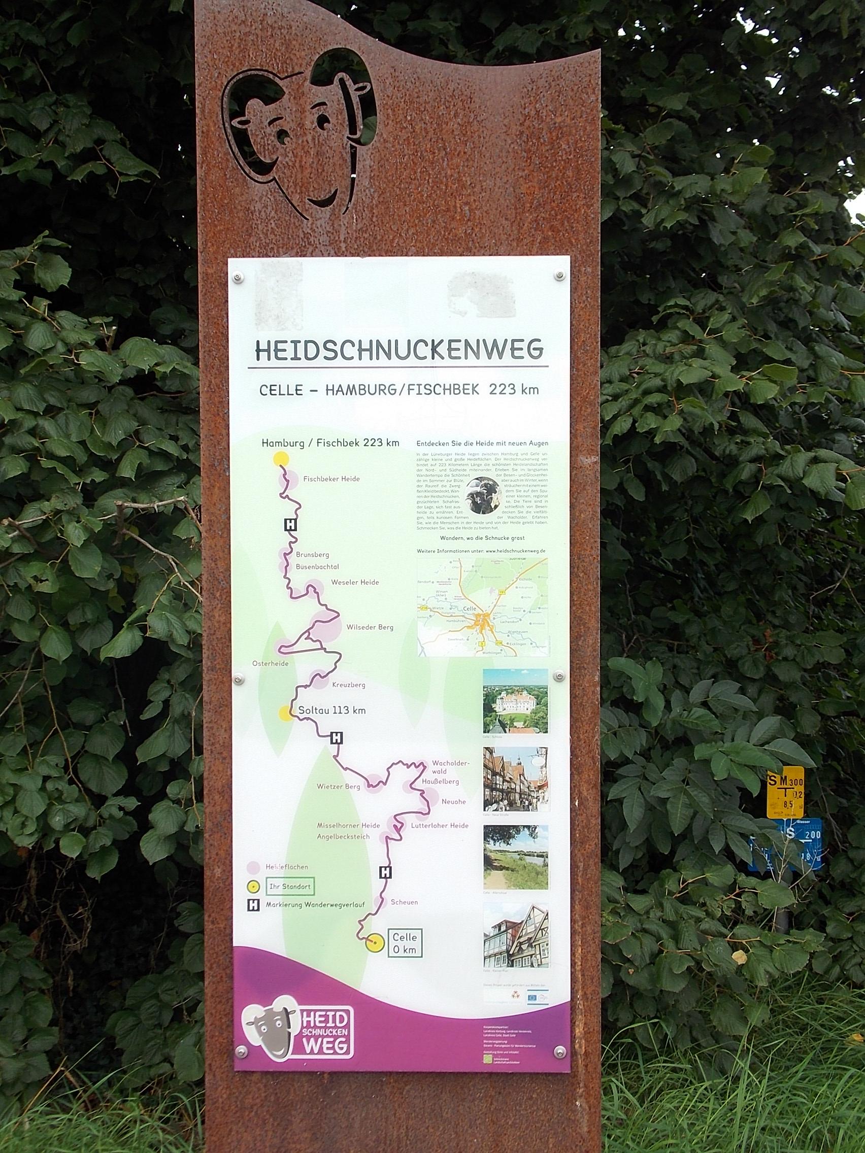 Celle Heidschnuckenweg