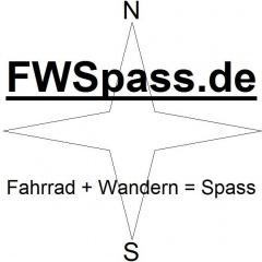 Anzeige FWSpass.de Fahrrad + Wandern = Spass