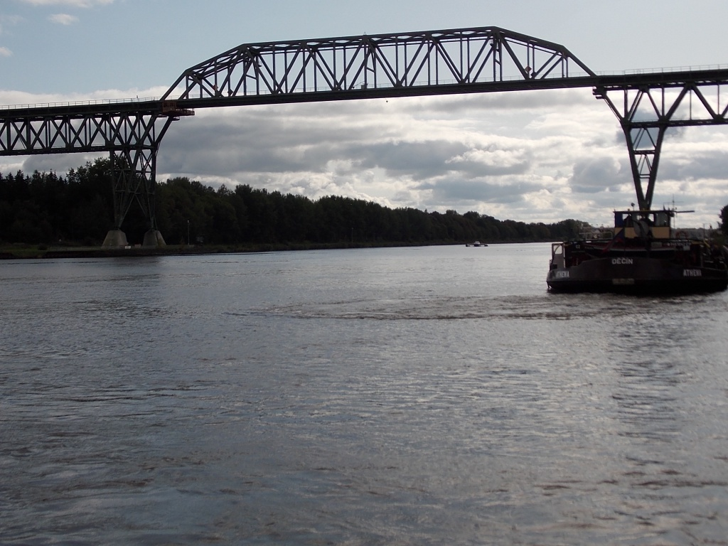 Nord-Ostsee-Kanal Eisenbahnhochbrücke Hochdonn