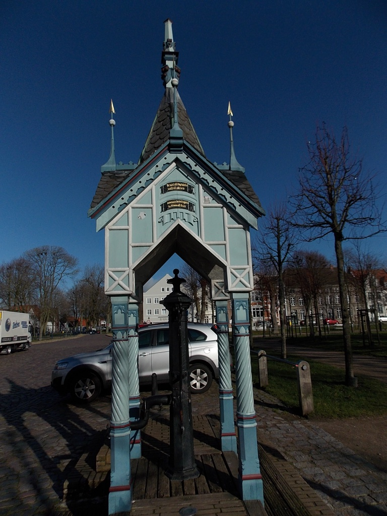 Friedrichstadt Marktbrunnen