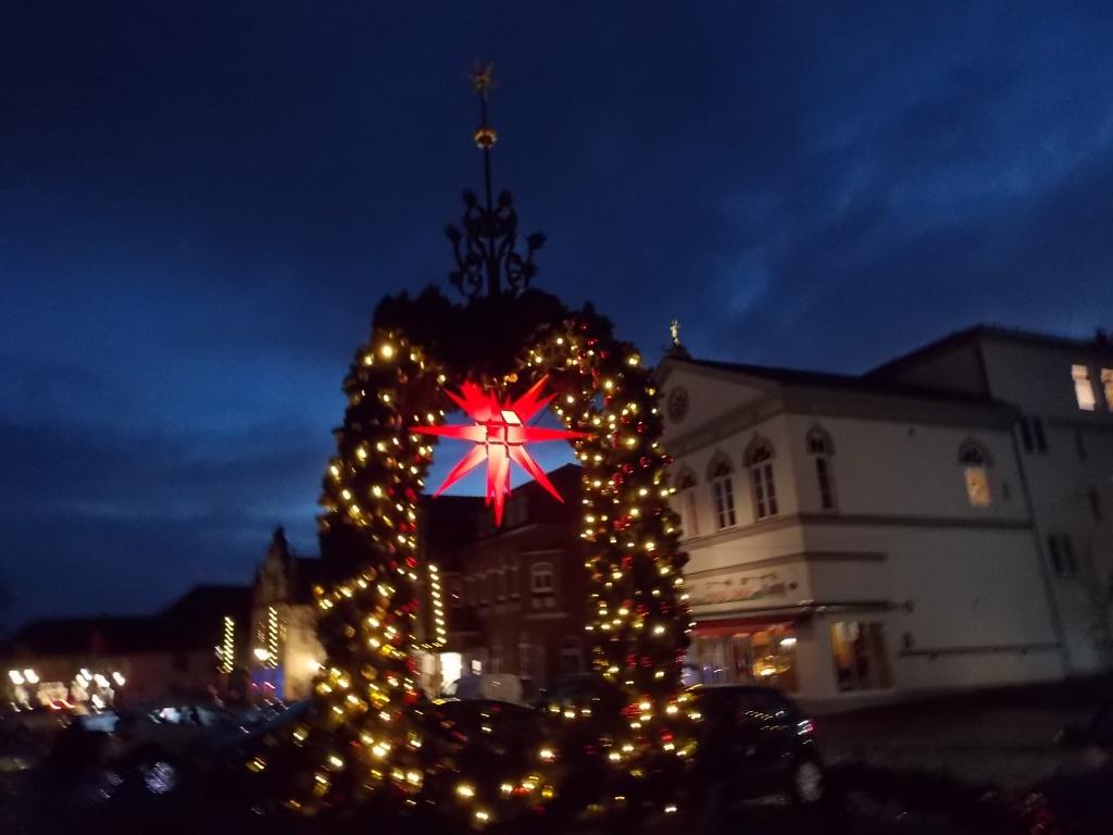 Tönning Marktbrunnen 2018 Weihnachtsmarkt