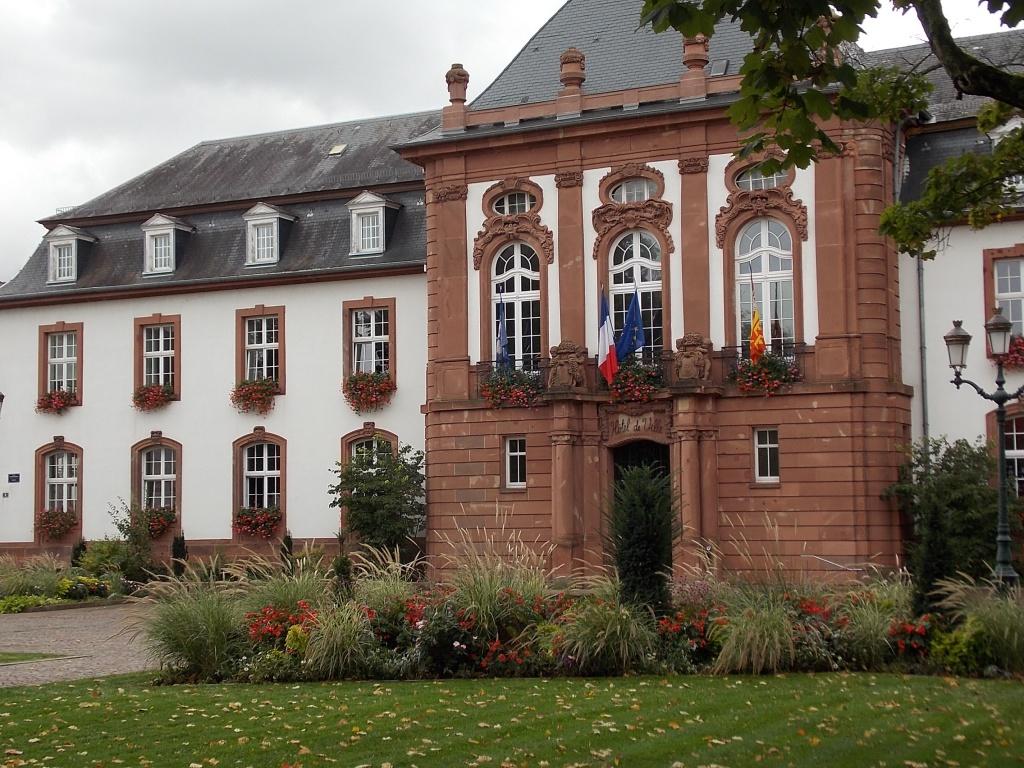 Elsass Haguenau Rathaus