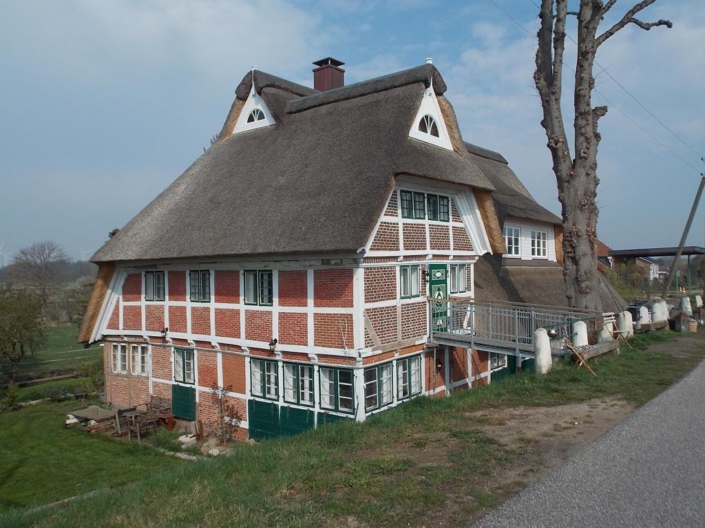 Bergedorf Altengamme Altengammer Hauptdeich Haus Anna Elbe