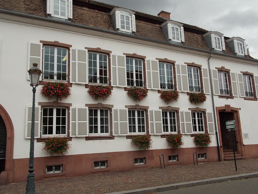 Elsass Haguenau Rue des Chevaliers